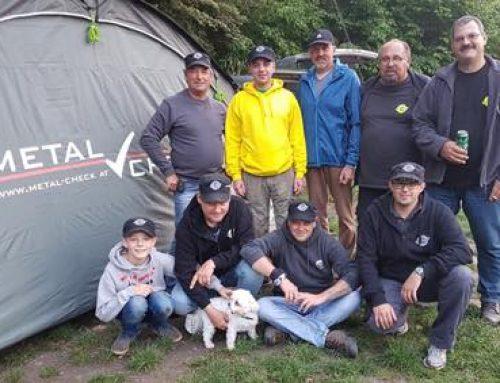 Unterstützung für den Angelverein Tin Carp Crew
