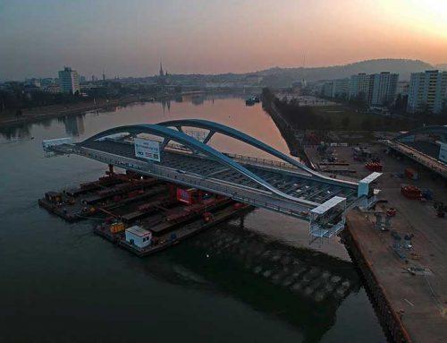 Die neue Donaubrücke – von Metal Check geprüft
